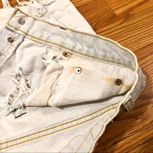 Levi's Shorts - Vintage Levi's Highwaisted Button Fly Cuttoffs